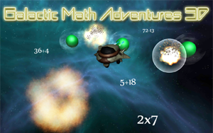 Galactic Math Adventures 3D