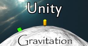 Unity - Kuenstliche Gravitation