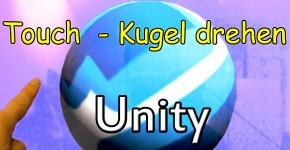 Unity Touch Kugel drehen