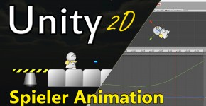 Unity 2D Spieler-Animation