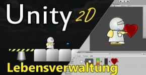 Unity2D-Lebensverwaltung