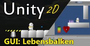 Unity Lebenbalken