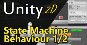 Unity3D - State Machine Behaviour Teil1